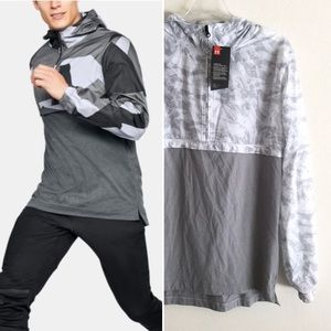 UNDER ARMOUR NWT Sportstyle Anorak Zip Pullover